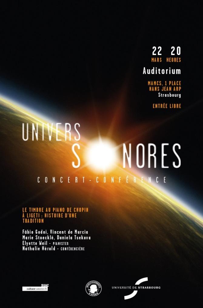 Affiche univers sonore 22 mars